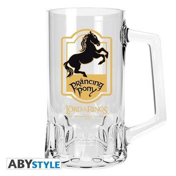Bicchiere Il Signore degli Anelli - Prancing Pony