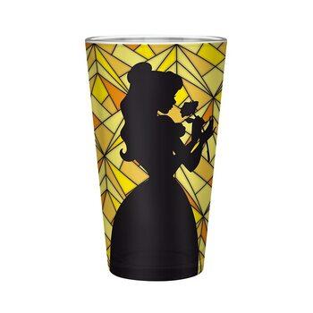 Bicchiere La bella e la bestia - Belle