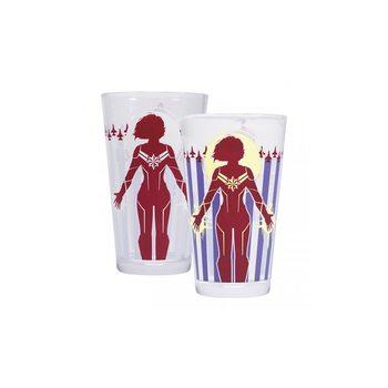 Bicchiere Marvel - Captain Marvel