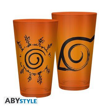 Bicchiere Naruto Shippuden - Konoha & Sceau