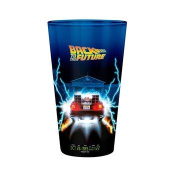 Bicchiere Ritorno al futuro - DeLorean