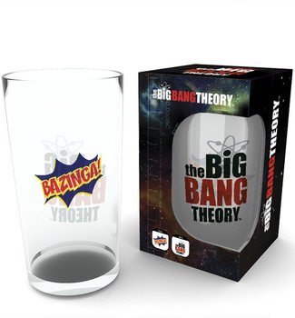 Bicchiere The Big Bang Theory - Bazinga