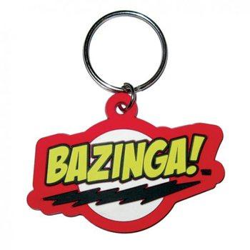BIG BANG THEORY - bazinga kulcsatartó