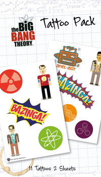 BIG BANG THEORY - bazinga  Tatouage