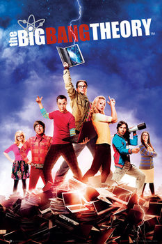 BIG BANG THEORY - season 5 - плакат (poster)