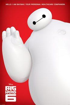 Big Hero 6 - I Am Baymax - плакат (poster)