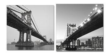 Gray bridge Moderne bilde