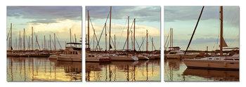 Peace in the dock Moderne bilde