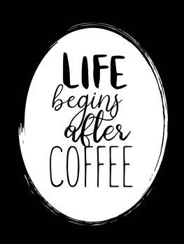 Canvastavla After coffee
