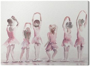 Canvastavla Aimee Del Valle - Les Cinquiemes