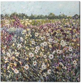 Canvastavla Anne-Marie Butlin - Late Summer Garden
