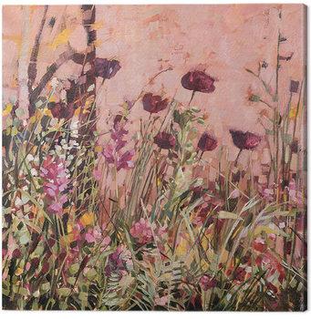 Canvastavla Anne-Marie Butlin - Mediterranean Garden 2