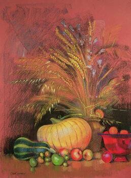 Canvastavla Autumn Harvest