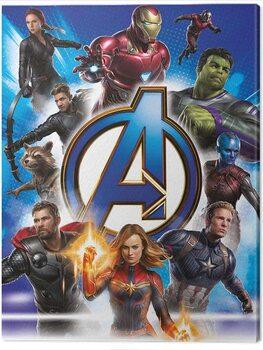 Canvastavla Avengers: Endgame - Avengers Unite