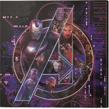 Canvastavla Avengers: Infinity War - Icon Characters