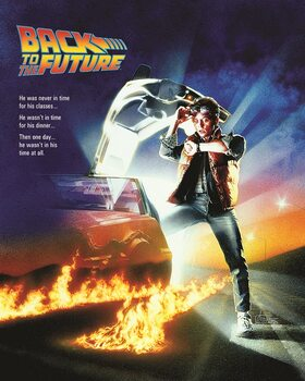Canvastavla Back to the Future - One Sheet