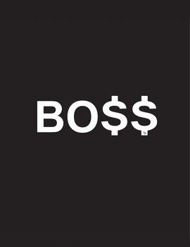 Canvastavla Boss