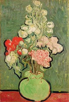 Canvastavla Bouquet of flowers, 1890