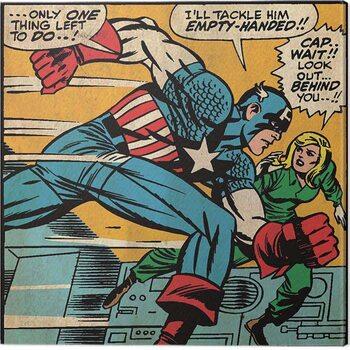 Canvastavla Captain America - Empty Handed