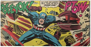 Canvastavla Captain America