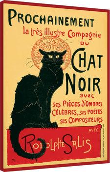 Canvastavla Chat Noir
