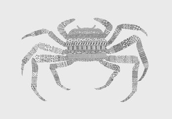 Canvastavla Crab
