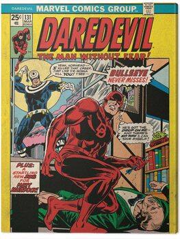 Canvastavla Daredevil - Bullsyey Misse