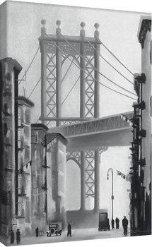 Canvastavla David Cowden - Manhattan Morning