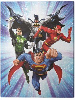 Canvastavla DC Comics - Justice League - Supreme Team