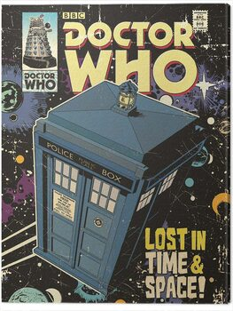 Canvastavla Doctor Who - Lost in Time & Space