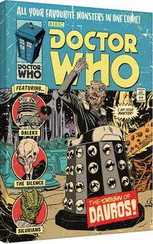 Canvastavla Doctor Who - The Origin of Davros