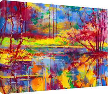 Canvastavla Doug Eaton - Reflections at Meadowcliff