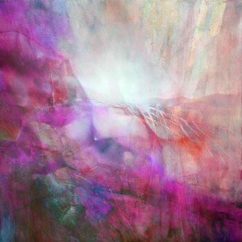 Canvastavla drifting - pink composition