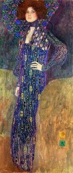 Canvastavla Emilie Floege, 1902