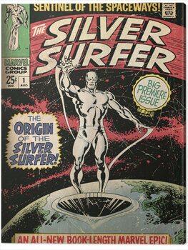 Canvastavla Fantastic Four 2: Silver Surfer - The Origin