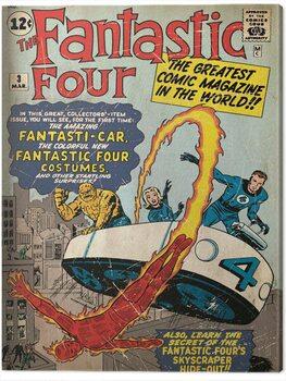 Canvastavla Fantastic Four - Marvel Comics