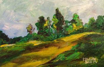 Canvastavla Furcy morning, 2015