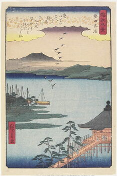 Canvastavla Geese Homing at Katada, March 1857