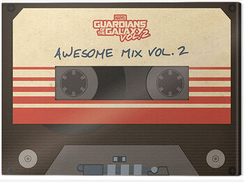 Canvastavla Guardians Of The Galaxy - Awesome Mix Vol. 2