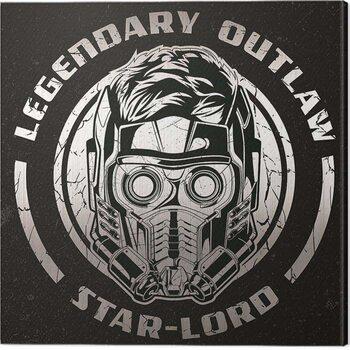 Canvastavla Guardians of The Galaxy Vol 2 - Legendary Outlaw