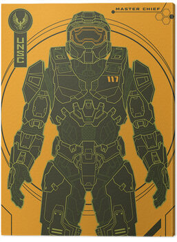 Canvastavla Halo: Infinite - Master Chief Tech