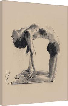 Canvastavla Hazel Bowman - Camel Pose