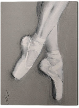 Canvastavla Hazel Bowman - Dancing Feet I