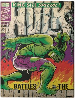 Canvastavla Hulk - Inhumans