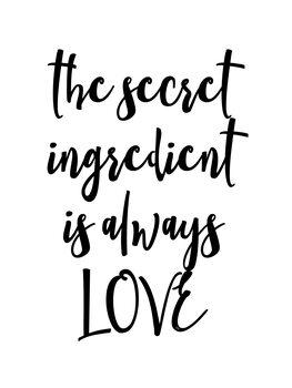 Canvastavla Ingredient