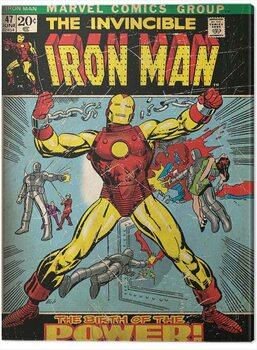 Canvastavla Iron Man - Birth of Power