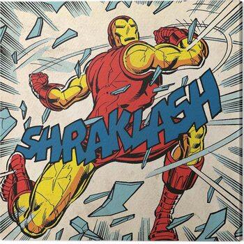 Canvastavla Iron Man - Shraklash!