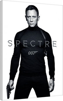Canvastavla James Bond: Spectre - Black and White Teaser