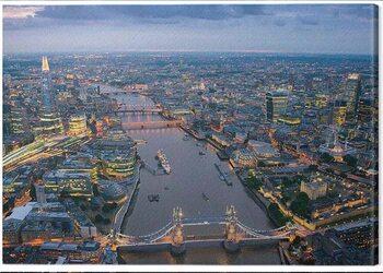 Canvastavla Jason Hawkes - London