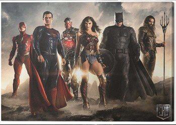 Canvastavla Justice League Movie - Teaser